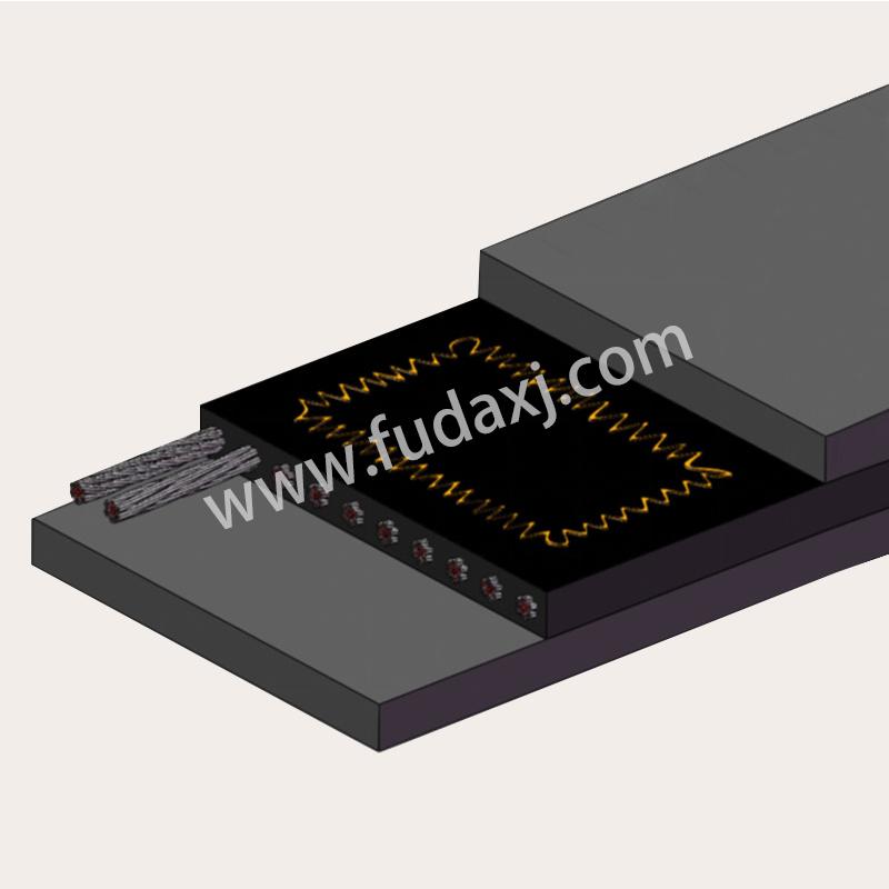 Sensor conveyor belt
