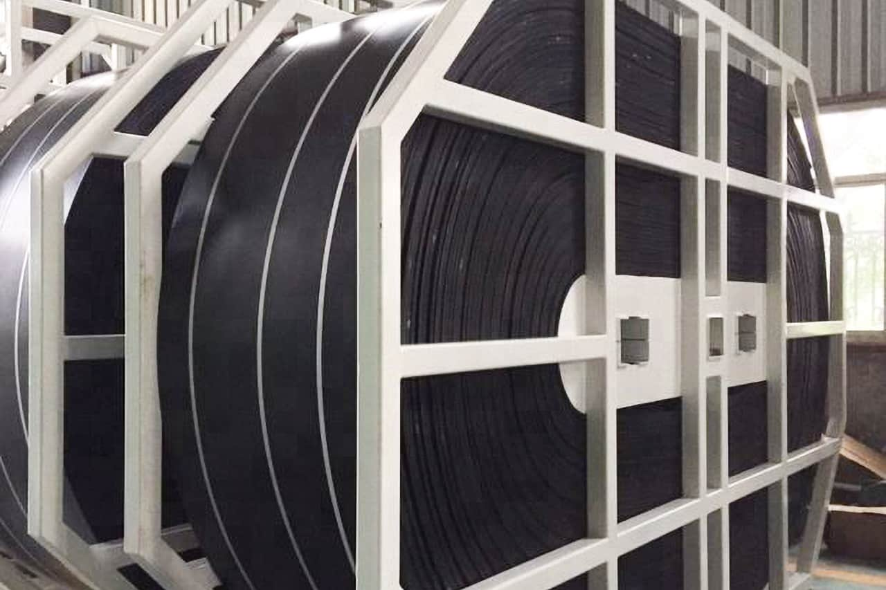 What are the reasons for the aging of the conveyor belt